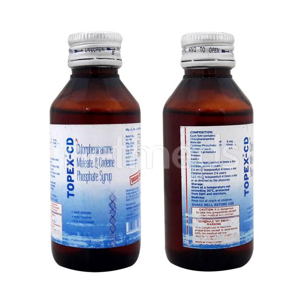 Topex-CD Syrup